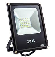 Прожектор LED ES-20-01 95-265V 6400K 1100Lm SMD, ЕВРОСВЕТ