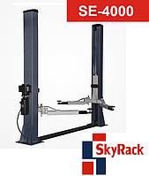 SkyRack SE-4000A - Автомобильный двухстоечный электрогидравлический подъемник. Бесплатная адресная доставка. SkyRack SE-4000A. Стоимость с доставкой.