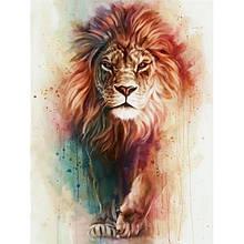 Картина за номерами Король савани