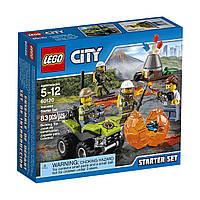 Конструктор Лего Сити Изучение Вулкана LEGO City 60120