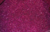 Блестки глиттер цвет фуксия 500 г, фото 1