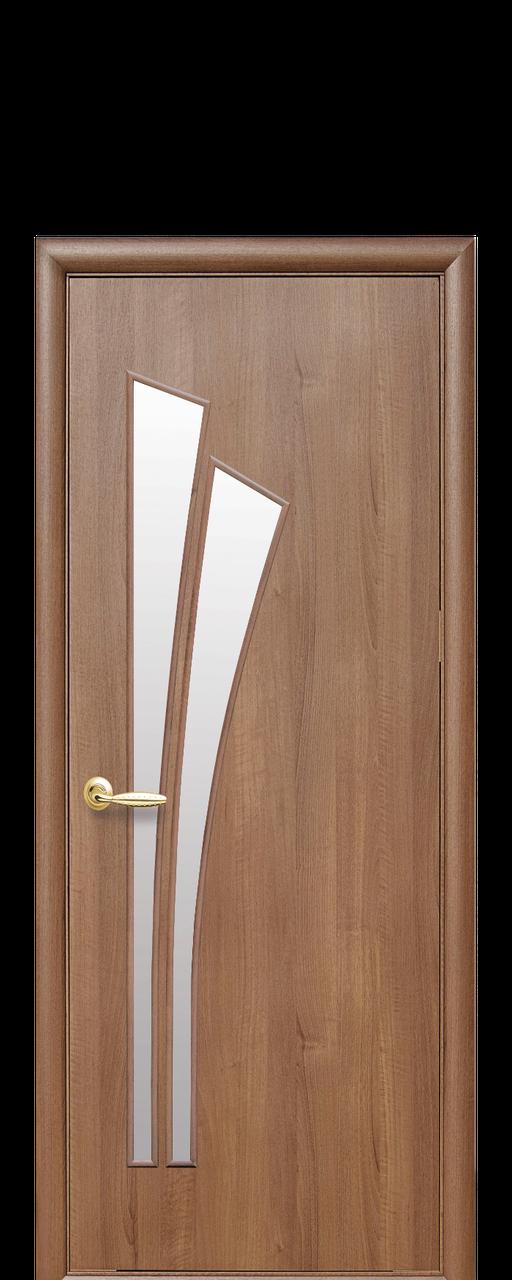 """Межкомнатные двери """"Лилия"""" со стеклом сатин"""