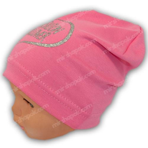трикотажные шапки для девочек