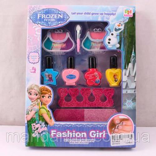 Детский набор косметики Frozen для девочек с лаками и тенями. КОСМЕТИКА 901-492A