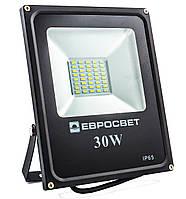 Прожектор LED ES-30-01 95-265V 6400K 1650Lm SMD, ЕВРОСВЕТ