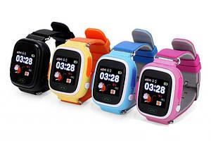 Детские часы GPS-трекер Smart Baby Watch Q90 + СМС, звонки, пульсомер