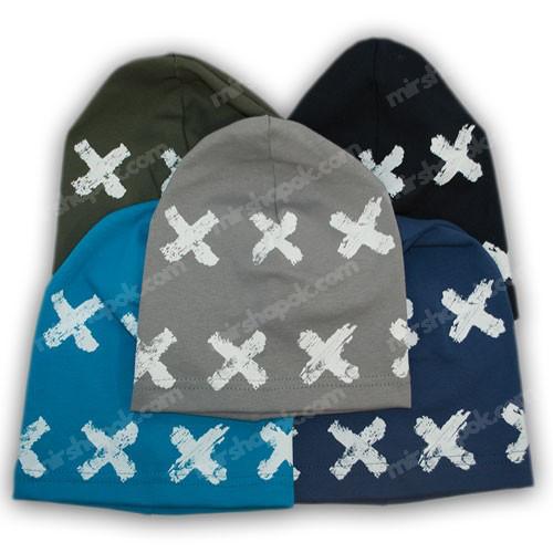 трикотажные шапочки для мальчиков