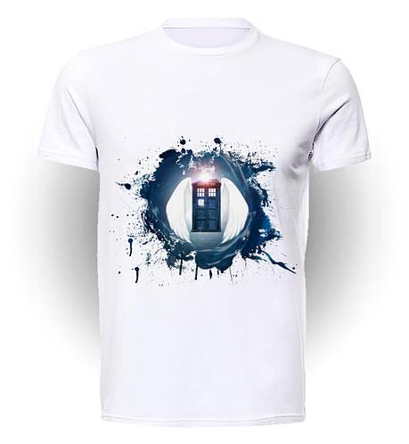 Футболка GeekLand Доктор Кто Doctor Who Тардис  DW.001.07