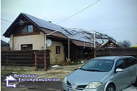 Сонячна електростанція 20 кВт*год с. Нижній Коропець 1