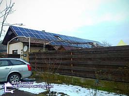 Сонячна електростанція 20 кВт*год с. Нижній Коропець