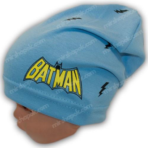 шапка для мальчика трикотажная