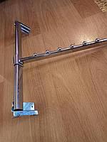 Флейта на перекладину хромированная (410 мм. 30 х 13 мм.)