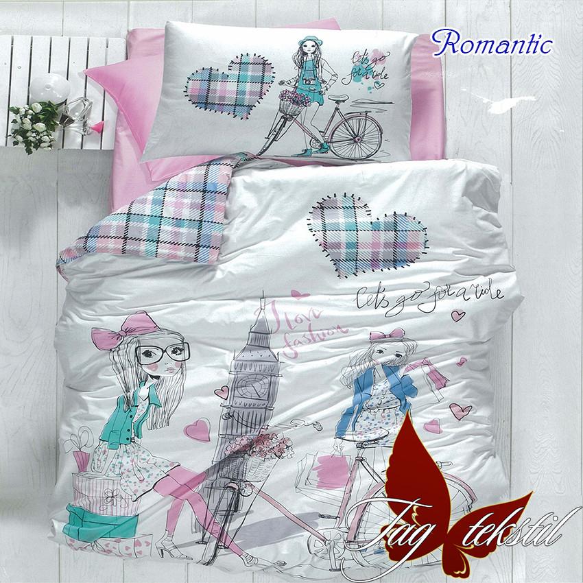 Комплект постельного белья для детей полуторный Romantic (ДП-Romantic)