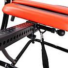 Інверсійний стіл Insportline Inverso Plus тренажер для спини і хребта, фото 2