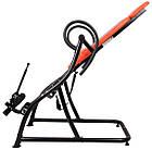 Інверсійний стіл Insportline Inverso Plus тренажер для спини і хребта, фото 4