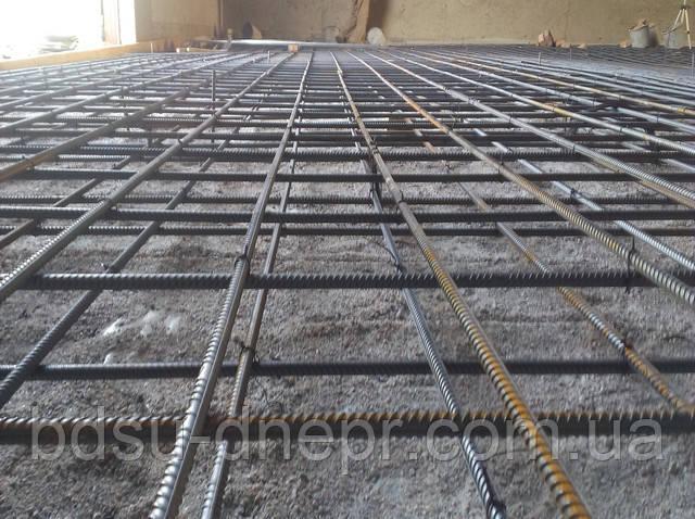 заливка бетона в Днепропетровске