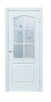 Двери межкомнатные Классика Омис ПВХ Белый СС+КР