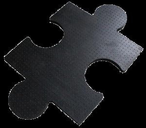 Резиновое покрытие пазл производство
