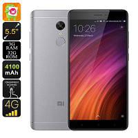 Оригинальный смартфон  Xiaomi Redmi Note 4X   2 сим,5,5 дюйма,8 ядер,32 Гб,13 Мп,4100 мА/ч.