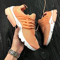 Женские кроссовки Nike Air Presto Ultra BR Orange. Живое фото (Реплика ААА+)
