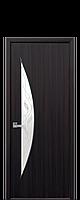 """Межкомнатные двери """"Луна"""" со стеклом сатин и рисунком, фото 1"""