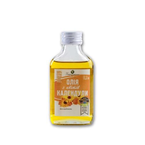 Масло календулы (мацерат) 100 мл. холодный отжим