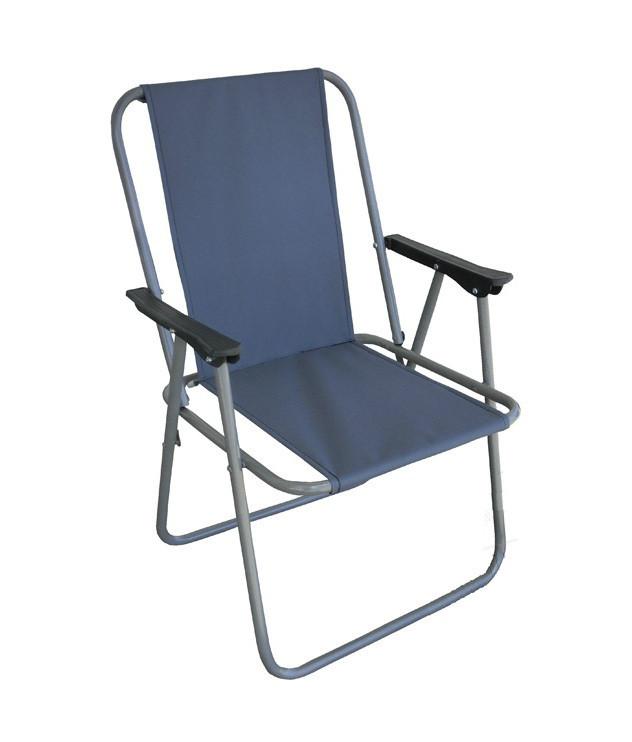Кресло раскладное Фидель стул со спинкой тканевое нагрузка 90 кг