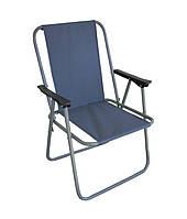 Кресло раскладное Фидель стул со спинкой тканевое нагрузка 90 кг, фото 1