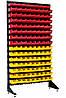 Стеллаж на 135 пластиковых ящиков для гаража, склада, СТО
