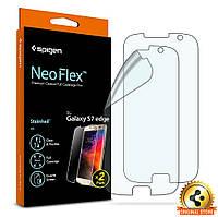 Защитная пленка Spigen для Samsung S7 Edge Neo Flex (2 шт), фото 1