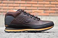 Кроссовки зимние H754BY мужские (кожаные)