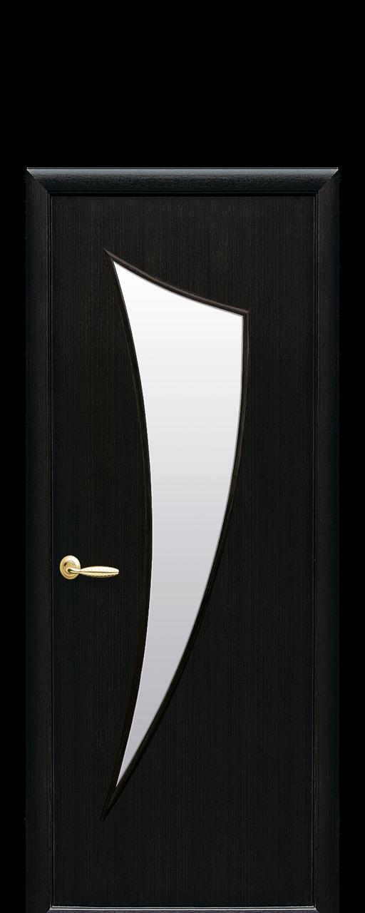 """Межкомнатные двери """"Парус"""" со стеклом сатин"""