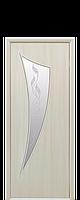 """Межкомнатные двери """"Парус"""" со стеклом сатин и рисунком, фото 1"""