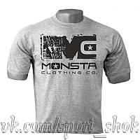 Спортивная футболка MONSTA, футболка для бодибилдинга