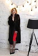 Шуба норковая, халат, английский ворот.. Модель 112 2019201, фото 1
