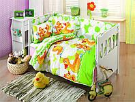 Набор для новорожденного в кроватку KRISTAL BEBEK PAYTAK САЛАТОВЫЙ