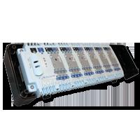 Salus KL06 230V - центр коммутации для системы отопления водяными теплыми полами