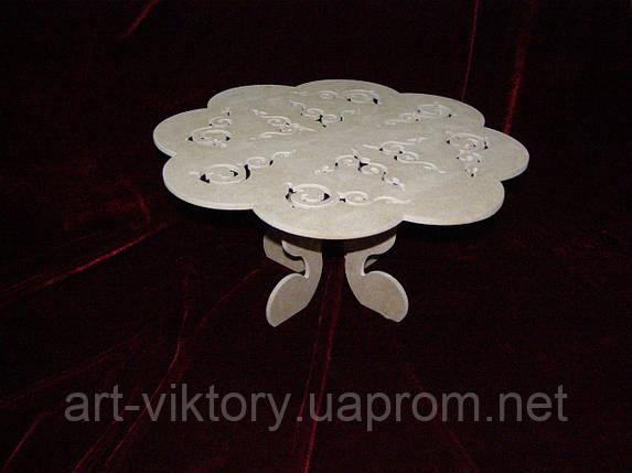 Подставка для торта, капкейков (40 х 40 х 18 см), декор, фото 2