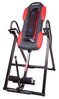 Инверсионный стол Insportline Inverso Heaty тренажер для спины и позвоночника (інверсійний стіл для спини)