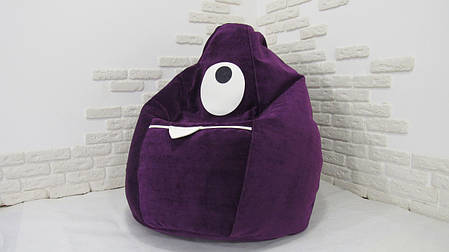 Детское кресло мешок Монстр, фото 2