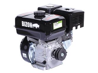 Двигатель бензиновый BIZON 170F (со шкивом в комплекте)