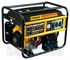 Генератор комбинированный (газ/бензин) SIGMA (5.0 кВт)