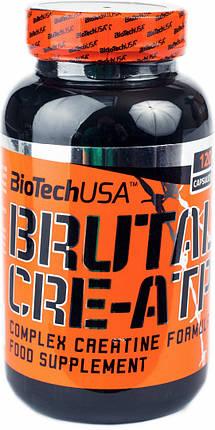 Brutal Cre-ATP BioTech 120 caps, фото 2