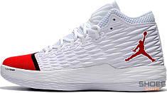 Баскетбольные кроссовки Air Jordan Melo M13 White/Red