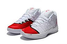 Мужские кроссовки Nike Air Jordan Melo M13 White/Red, фото 3