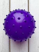 Массажный мячик 10 см фиолетовый