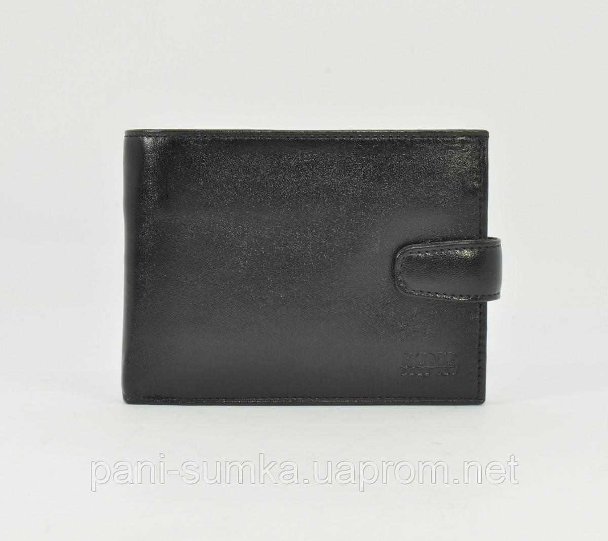 Портмоне, кошелек мужской кожаный Bond Non 545-1 черный