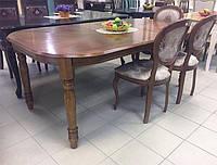 Стол обеденный 4278-1 STL темный орех Малайзия, фото 1