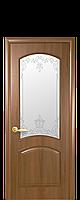 """Межкомнатные двери """"Антре"""" со стеклом сатин и рисунком, фото 1"""