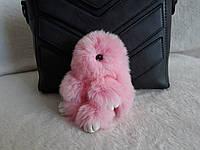 Брелок зайчик, розовый